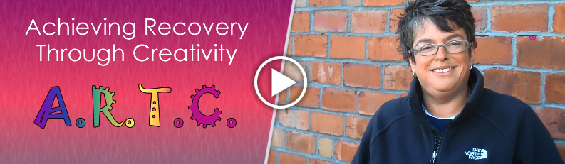 Kasey Harlin talks about ARTC / A.R.T.C. (Achieving Recovery Through Creativity)
